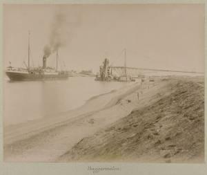 Суэцкий канал строительство