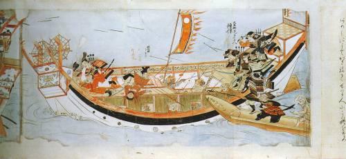 """флот """"монголов"""" японцы битва годов Буньо"""
