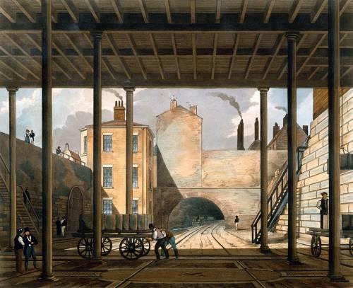 тоннель Ливерпуль-Манчестерской железной дороги 1830 г